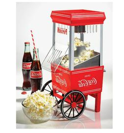Coke Hot Air Popcorn Maker Nostalgia Coca-Cola Series Counte