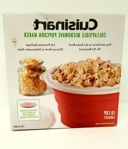 Cuisinart Collapsible Microwave Popcorn Maker CTG-00-MPM wit