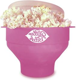 collapsible silicone microwave popcorn maker