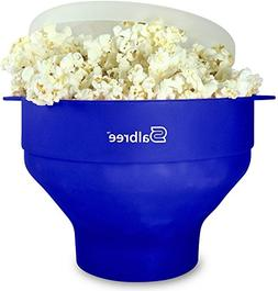collapsible silicone microwave popcorn popper