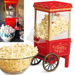 Commercial Healthy Popcorn Maker Machine 12-Cup Hot Air Upgr