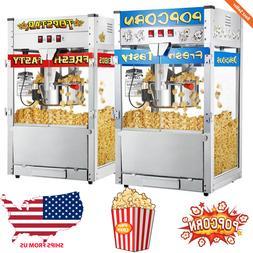 Commercial Heavy Duty Popcorn Popper Machine Maker 12 Ounce