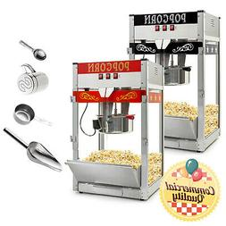 Commercial Popcorn Machine Maker Popper Countertop Style Lar