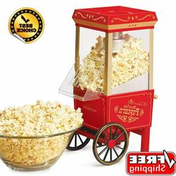 commercial popcorn maker machine 12 cup hot