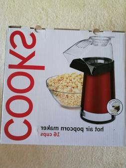 Cooks Hot Air Popcorn Maker 16 cups NIB