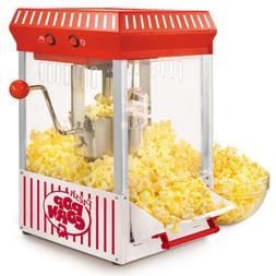 Vintage Kettle Popcorn Maker Counter top   Nostalgia Popper