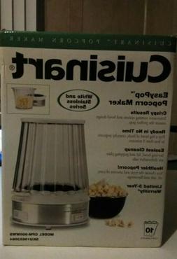 Cuisinart EasyPop Popcorn Maker White Stainless CPM-900WWS 1