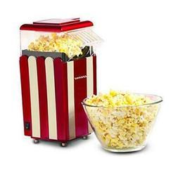 Egofine Popcorn Maker Machine, 1200W Healthy Hot Air Popcorn