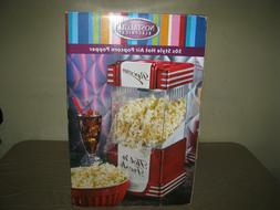 NOSTALGIA ELECTRIC 50s STYLE HOT AIR POPCORN POPPER