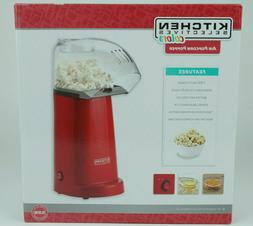 electric air popper popcorn maker popped corn