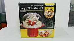 PRESTO ELECTRIC HOT AIR FOUNTAIN POPCORN POPPER NO OIL 20 CU
