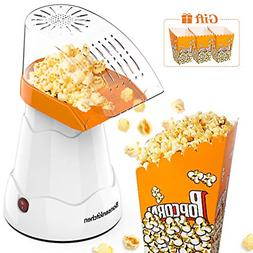 Electric Hot Air Popcorn Popper for Home Movie Theater w FDA