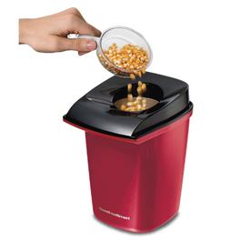 Electric Hot Air Popcorn Popper - Healthy Snack - Red color