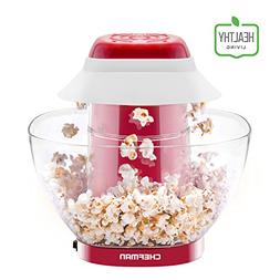 Chefman Electric Perfect Pop Volcano Popcorn Maker with Remo
