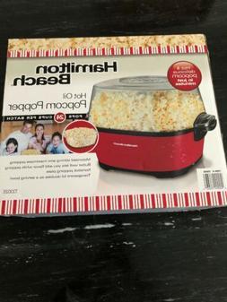 electric popcorn maker with stir arm 73302
