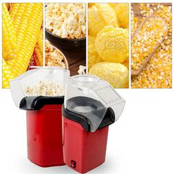 Electric Popcorn Popper Machine Air-pop Maker Bar Party Home