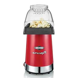Throwback  Electric Vintage-Inspired Air Popcorn Maker, Red