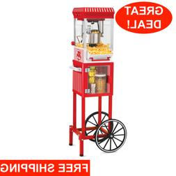 Nostalgia Electrics Popcorn Cart Machine Popper Maker Vintag
