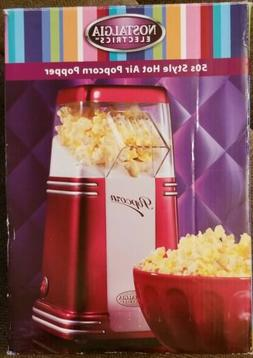 Nostalgia Electrics Retro Series 50s Style Hot Air Popcorn P