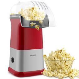 Fast Hot Popcorn Popper Machine Maker No Oil Measuring Cup f