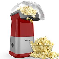 OPOLAR Fast Hot Air Popcorn Popper Machine, No Oil Popcorn M