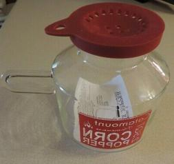 flameware 2 5 qt microwave popcorn popper