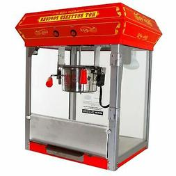 Fun Time 4 oz FT421CR 4oz Popcorn Popper Maker Machine Table