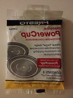 genuine powercup microwave concentrator set of 8