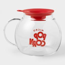 Glass Microwave Popcorn Popper Popcorn not included Freeship