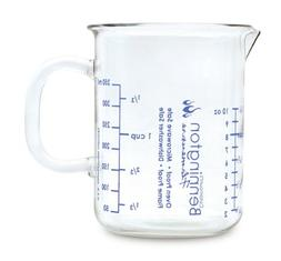 Catamount Glassware Graduated Measuring Cup from 1/4 to 1-1/