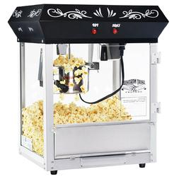 Great Northern Black Foundation Popcorn Popper Machine, 4 Ou
