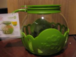 green micro pop microwave popcorn popper 3qt