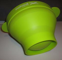 Green Popcorn Popper - Microwave Popcorn Maker Collapsible S