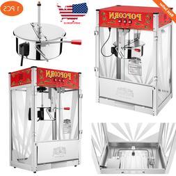 Heavy Duty Deluxe Top Popcorn Machine Maker 16 Ounce 7 Gallo