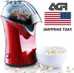 High Efficiency Popcorn Maker Popper Machine Hot Air Healthi