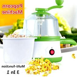 Home 3 in 1 Popcorn Machine Multi-function Popper Omelette S