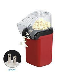 FidgetFidget Home 1200W Mini Hot Air Popcorn Maker Electric