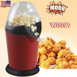Hot Air Electric Popcorn Popper Maker Machine Healthy No Oil