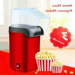 Hot Air Pop Popcorn Machine Popper Maker 1200W Home Mini Tab