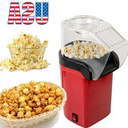 Hot Air Pop Popcorn Machine Popper Maker Small Home Party Mo