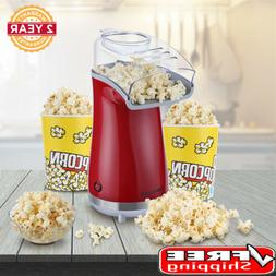 Hot Air-Pop Popcorn Maker 16 Cup Oil-Free Home Popping Kitch