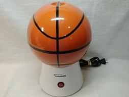 hot air popcorn popper basketball novelty brentwood