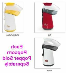 Hot Air Popcorn Popper Fast Convenient Natural & Light Healt