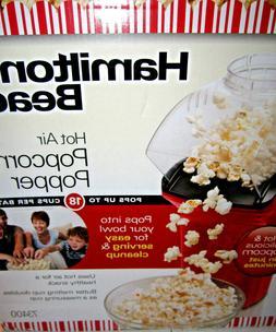 Hamilton Beach Hot Air Popcorn Popper in Red