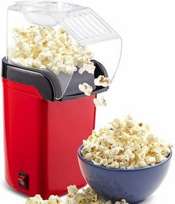 Hot Air Popcorn Popper Machine,1200W Home Electric Popcorn M