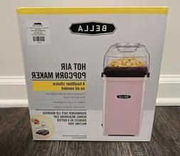 Bella Hot Air Popcorn Popper Maker Bubble Gum Blush Pink Kit