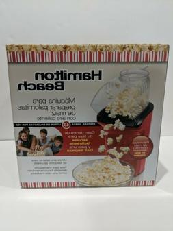 Hamilton Beach Hot Air Popcorn Popper Popcorn Maker Red 7340