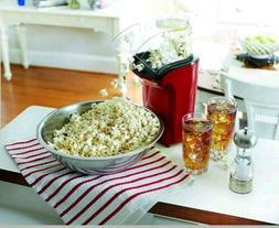 hot air popcorn popper popcorn maker red