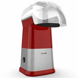 Hot Air Popcorn Poppers for Home, 1200W Popcorn Maker Machin
