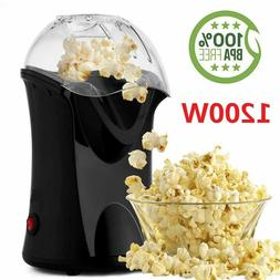 Homdox Hot Air Popper Popcorn Maker 1200W Electric Popcorn M